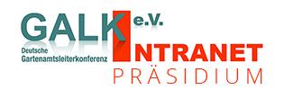 Intranet GALK-Präsidium